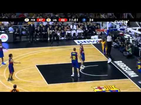 Regal FC Barcelona – Los Angeles Lakers (NBA Europe Live Tour 2010) (7-10-2010)