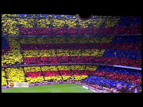 Amazing FC Barcelona Anthem Live at Camp Nou El Clasico El Cant del Barça