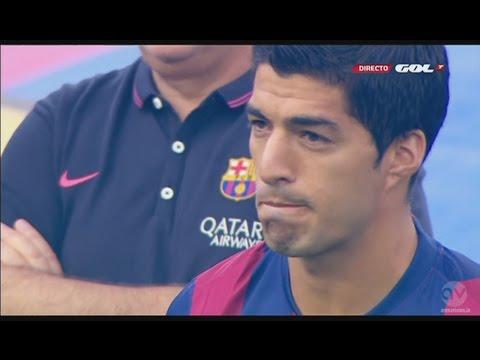 Luis Suárez presentation as FC Barcelona player   18/8/14