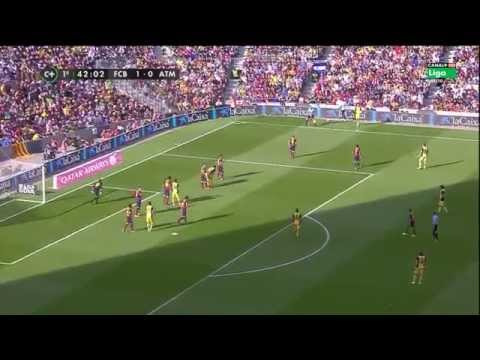 La Liga 17 05 2014 FC Barcelona vs Atlético de Madrid – HD – Full Match – 1ST – Spanish Commentary