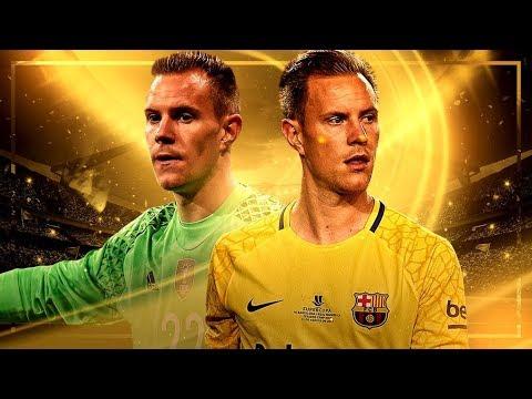Marc-André ter Stegen – World's Best Goalkeeper? | FC Barcelona, 2017/18