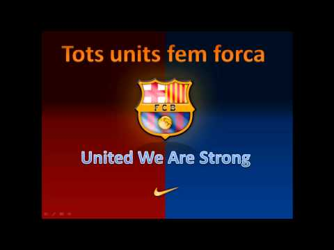 (HD) Barcelona Cry / Shout With English and Catalan Lyrics