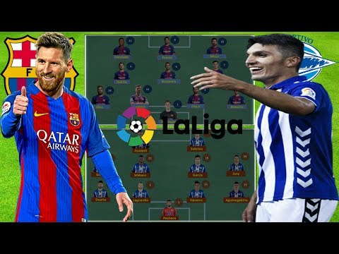 BARCELONA vs DEPORTIVO ALAVÉS Lineup Squad & Prediction 18-Aug-2018 | ROUND 1 LA LIGA