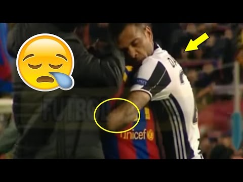 If you hate Dani Alves Watch this video (Reaction Juventus vs FC BARCELONA)