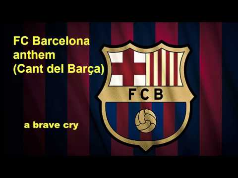 FC Barcelona anthem lyrics in English