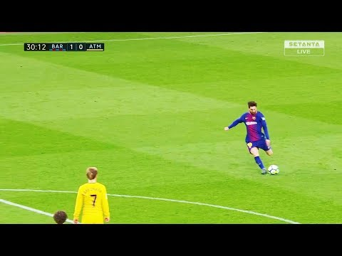 Lionel Messi Vs Atletico Madrid (Home) HD 720p (04.03.2018) By NugoBasilaia