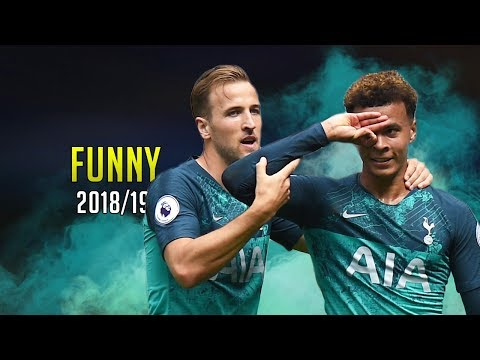 Famous Player Funny Celebrations ● 2018/19