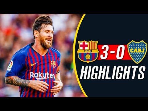 Barcelona Vs Boca Juniors 3-0 – Highlights 2018 HD
