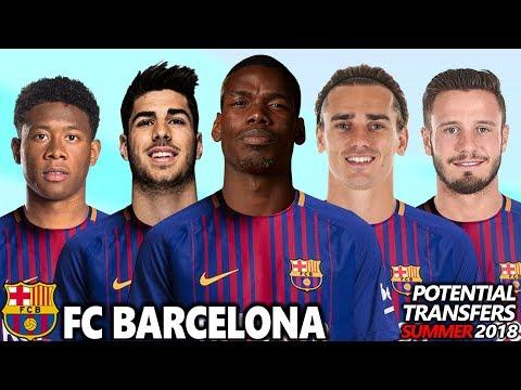 FC BARCELONA – POTENTIAL TRANSFERS & RUMOURS SUMMER 2018 | ft. POGBA, GRIEZMANN, ALABA, INIESTA…