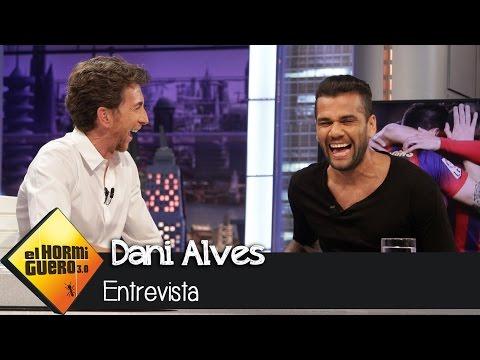"""Dani Alves en 'El Hormiguero 3.0': """"No pensé que lo del plátano tendría tanta repercusión"""""""