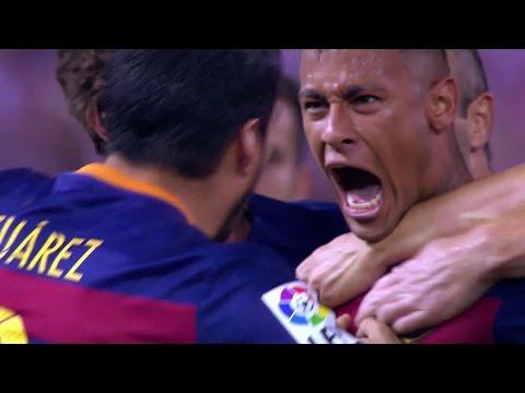 Neymar vs Atletico Madrid Away HD 1080i (12/09/2015) by MNcomps