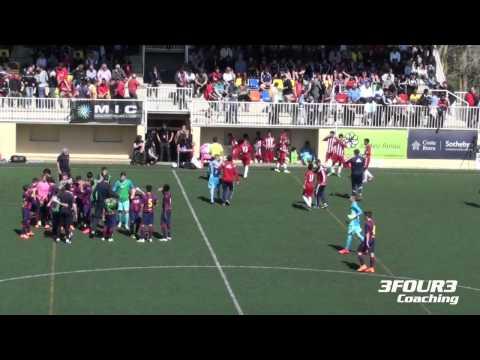 FC Barcelona vs Chivas USA – [infantil]