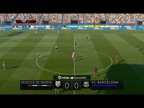 Atletico Madrid vs FC Barcelona | LaLiga Santander 26/02/2017 | Fifa 17 Predicts – by Pirelli7
