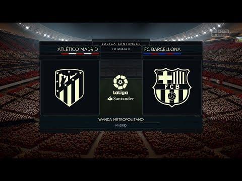 Atletico Madrid vs FC Barcelona   LaLiga 14.10.2017   FIFA 18 Predict – by Pirelli7