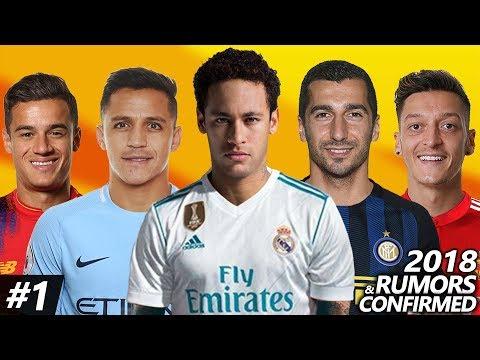 Latest Transfer News Winter 2018 – Confirmed & Rumours Transfers ft. Neymar, Sanchez, Ozil…