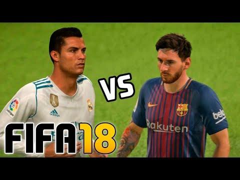 Real Madrid vs Barcelona   FIFA 18 – Santiago Bernabéu