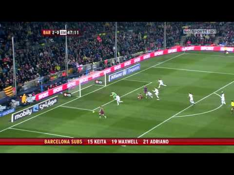 The best soccer Match Barcelona 5- Madrid 0 (Full Match)
