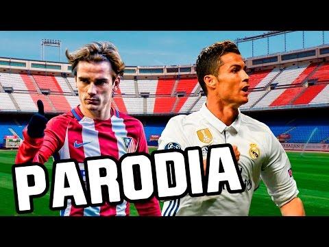 Canción Atletico Madrid vs Real Madrid 2-1 (Parodia Wisin – Escápate Conmigo ft. Ozuna) 2017
