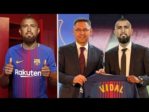 Arturo Vidal Welcome To Barcelona! (official) Confirmed & Rumours Summer Transfers 2018