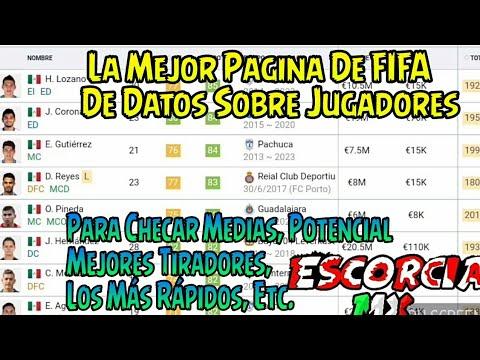 Las Mejor Página De FIFA – SOFIFA – Medias, Potencial, Edades, Los Mas Rápidos y más.