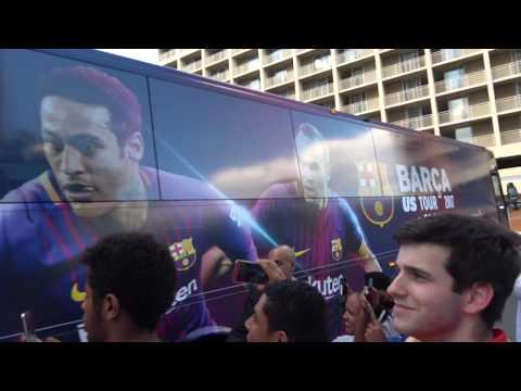 FC Barcelona Football Team; Watergate Hotel, Washington DC, USA – Sportsfans