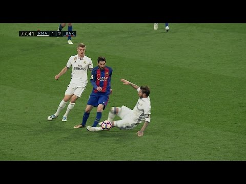 Lionel Messi vs Real Madrid ULTRA 4K (Away) 23/04/2017 by SH10