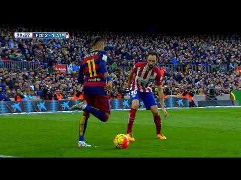 Neymar vs Atlético Madrid Home HD 1080i (30/01/2016) by MNcomps