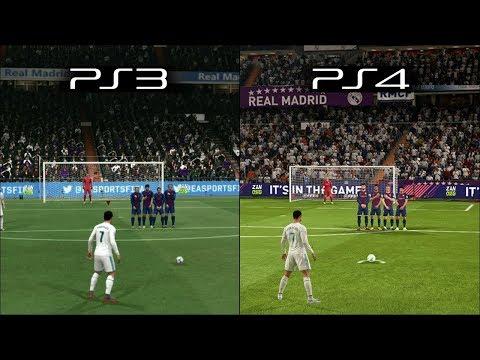 FIFA 18 | Ps3 vs Ps4 Graphics & Gameplay Comparison