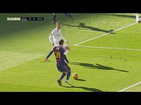 Lionel Messi vs Real Madrid ULTRA 4K (Away) 23/12/2017