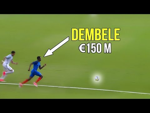 The match that made Barcelona buy Ousmane Dembélé because of his crazy skills & goals   €150 million