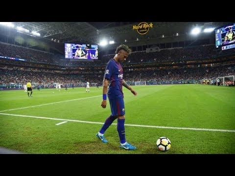 This is what Neymar did in his last game for Barcelona