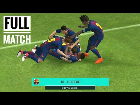 PES 2018 || Full Match || FC Barcelona vs FCB || Android Gameplay