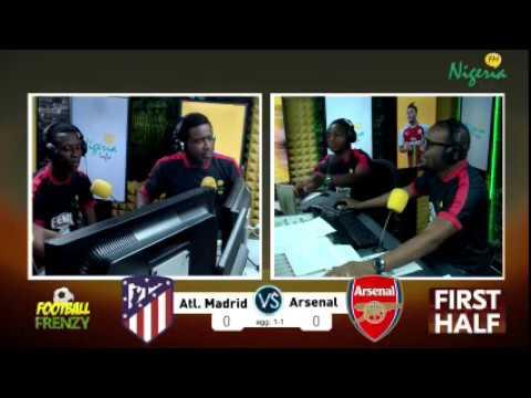 Atletico Madrid v Arsenal Europa League Semi-Final(2nd leg) Live Commentary