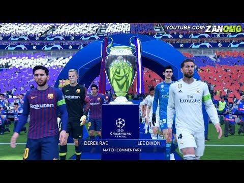 FIFA 19 | FC Barcelona vs Real Madrid | UEFA Champions League Final | 1080p HD