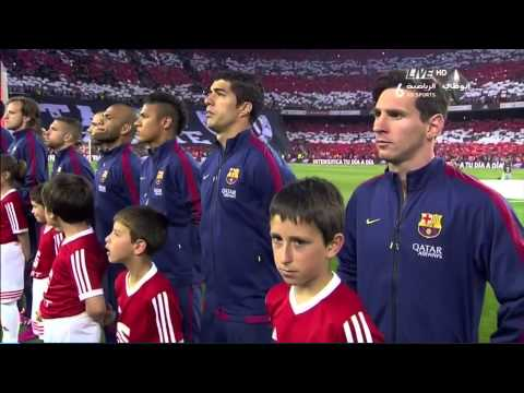 Spoiling the Spanish anthem