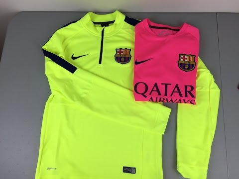 Review: FC Barcelona Training Gear 2014-2015 by Nike