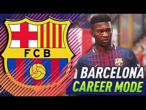 FIFA 18 BARCELONA CAREER MODE!!! #1