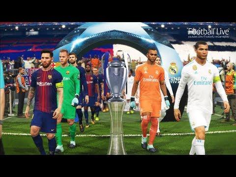 PES 2018 | REAL MADRID vs FC BARCELONA | Final UEFA Champions League | Penalty Shootout