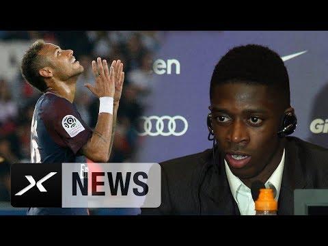 """Ousmane Dembele: """"Bin nicht da, um Neymar zu ersetzen""""   FC Barcelona   La Liga"""
