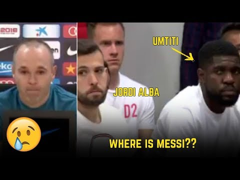 Players Reaction To Andres Iniesta Departure From Barcelona | ft. Messi, Sergio Ramos, Zidane