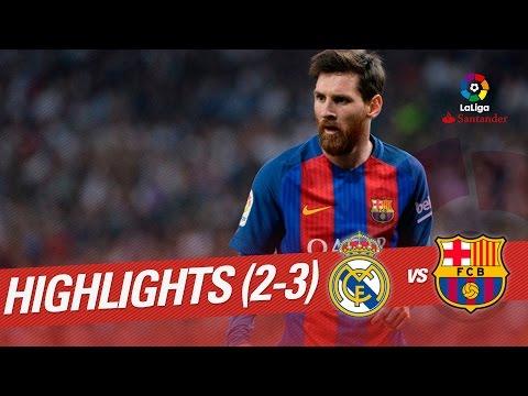 El Clásico – Resumen de Real Madrid vs FC Barcelona (2-3)