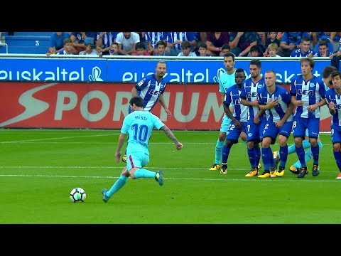Lionel Messi vs Alaves (Away) 26/08/2017 HD 1080i by SH10
