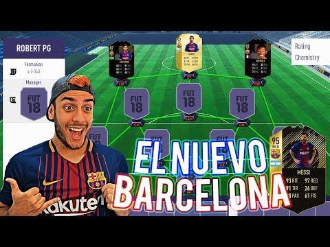 FC. BARCELONA FIFA 18 – MI 11 IDEAL Y FICHAJES
