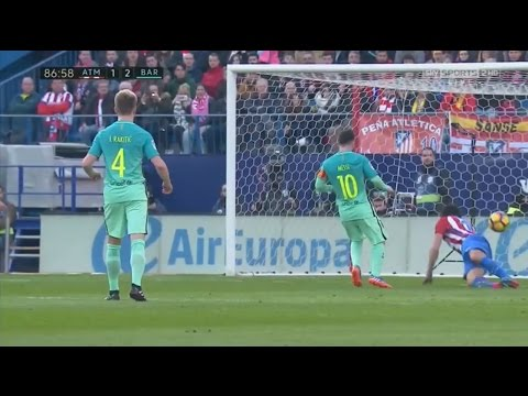Atletico Madrid vs Barcelona 1-2 All Goals & Highlights [English Commentary] HD 26/02/2017