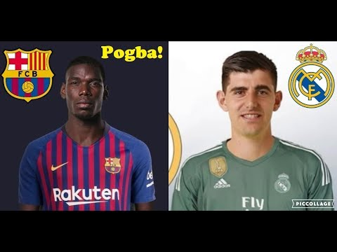Confirmed Summer Transfers and Rumours 2018/2019 #5 ft. Paul Pogba To Barcelona, Courtois