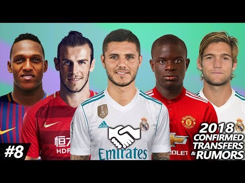 Latest Transfer News January 2018 #8 – Confirmed & Rumours ft. Bale, Icardi, Kante, Alonso…