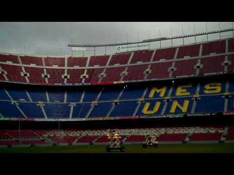 OFFICIAL TOUR Camp Nou Stadium Barcelona February 2010 HD