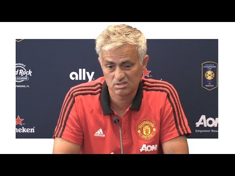 Jose Mourinho Pre-Match Press Conference – Barcelona v Manchester United – Man United Tour 2017