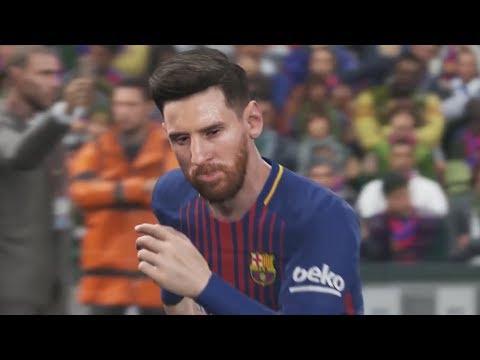 PES 2018 FC BARCELONA & ATLETICO MADRID FACES!