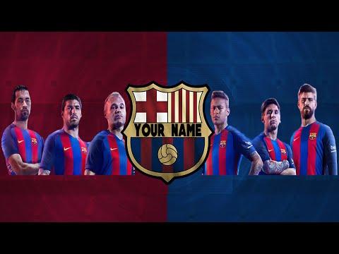 FREE YOUTUBE BANNER FC BARCELONA (FREE DOWNLOAD+TUTURIOL)